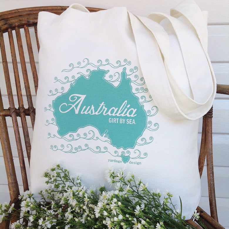 Image of Australia Market Bag {assorted colours}