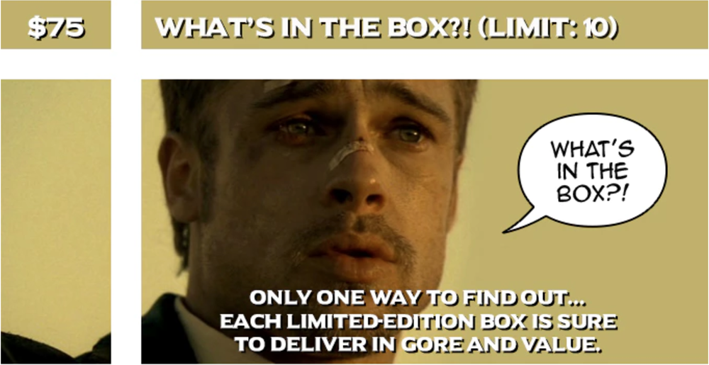 Image of What's in the Box?!