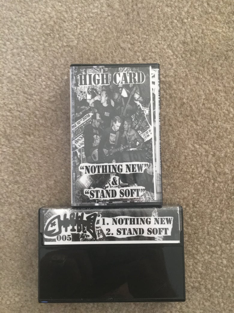 Image of Nothing New/Stand Soft Cassette Tape