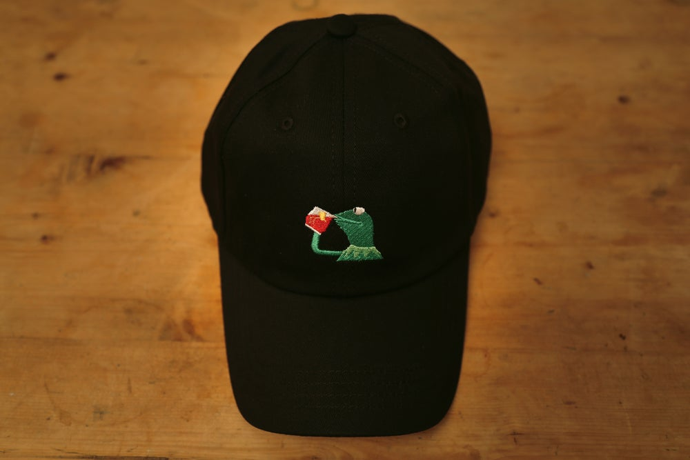 Image of Kermit Cap - Black