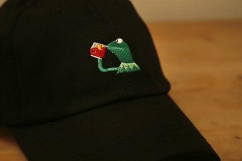 Image of Kermit Cap - Black