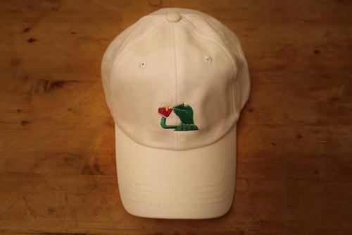 Image of Kermit Cap - White