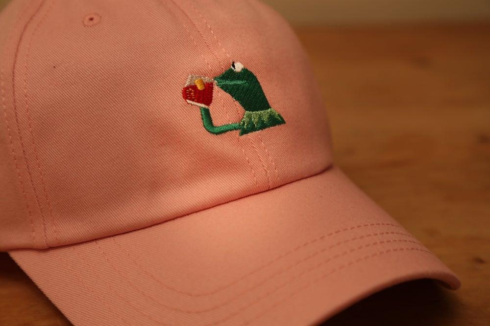 Image of Kermit Cap - Baby Pink