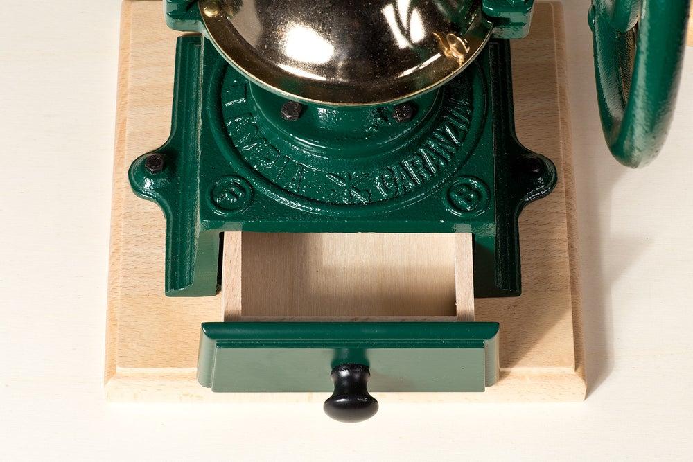 Image of MACINACAFFE' A VOLANO / MANUAL COFFEE GRINDER