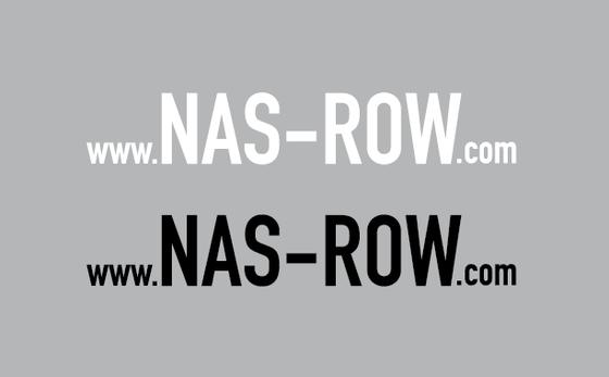 Image of NAS ROW DIE CUT WEBSITE DECAL SET