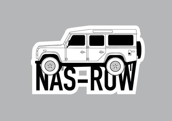Image of NAS ROW Decal