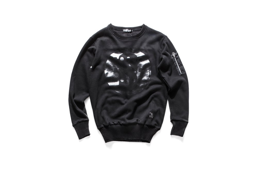 Image of S-LOGO SWEATSHIRT Black