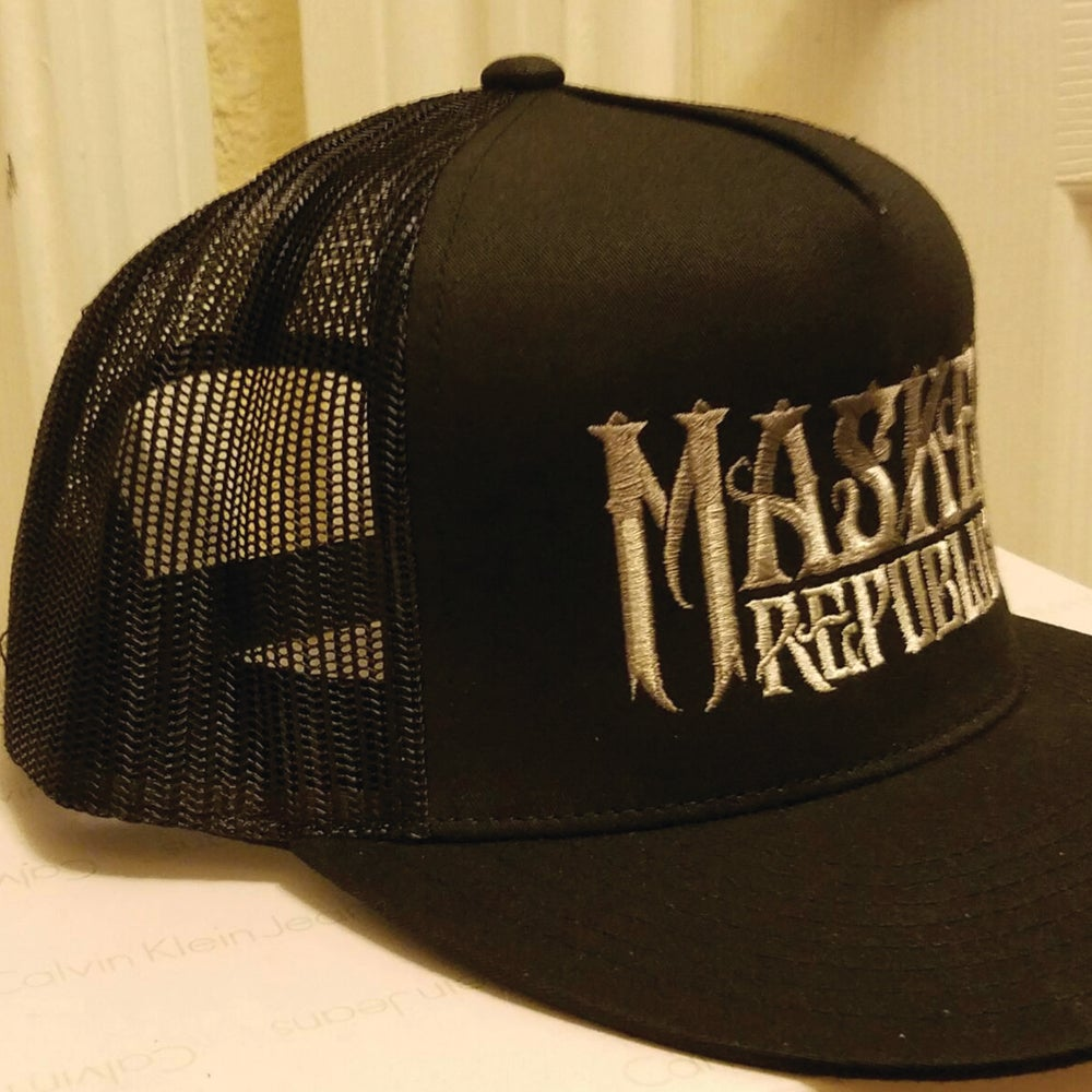Image of PRE-ORDER: Masked Republic Logo Trucker Hat - SPECIAL 20% OFF