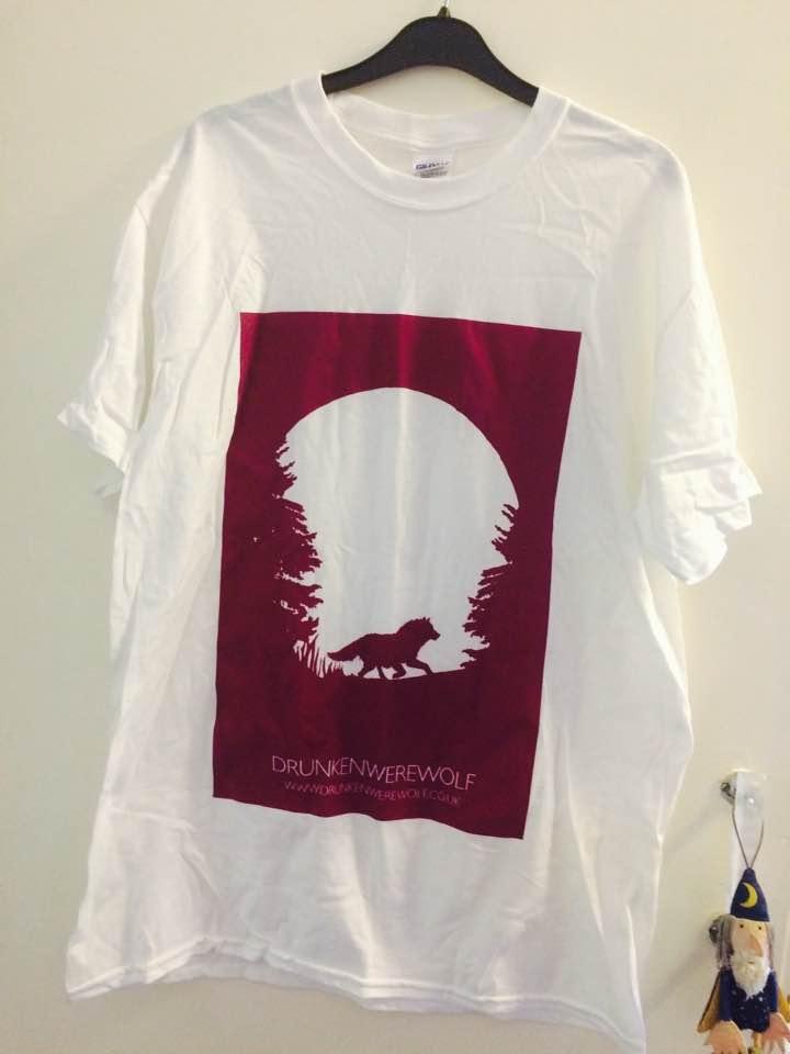 Image of DrunkenWerewolf T-shirt