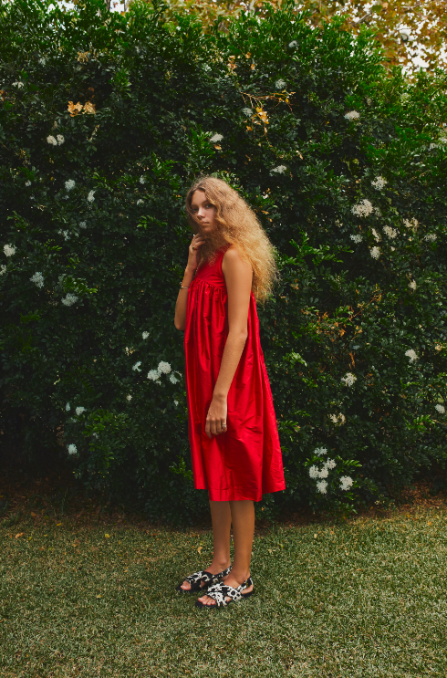 Image of LONG PARACHUTE DRESS- ON SALE