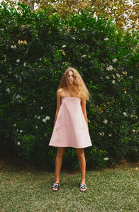 Image of ROSE STRAPLESS DRESS