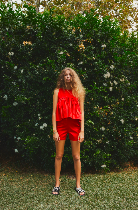 Image of ELROY SHORTS- RED
