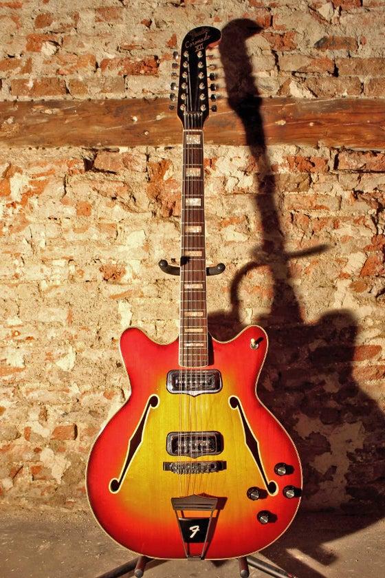 Image of Fender Coronado XII Sunburst (1967)