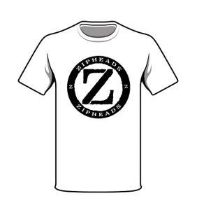 Image of Circle Logo Tee White