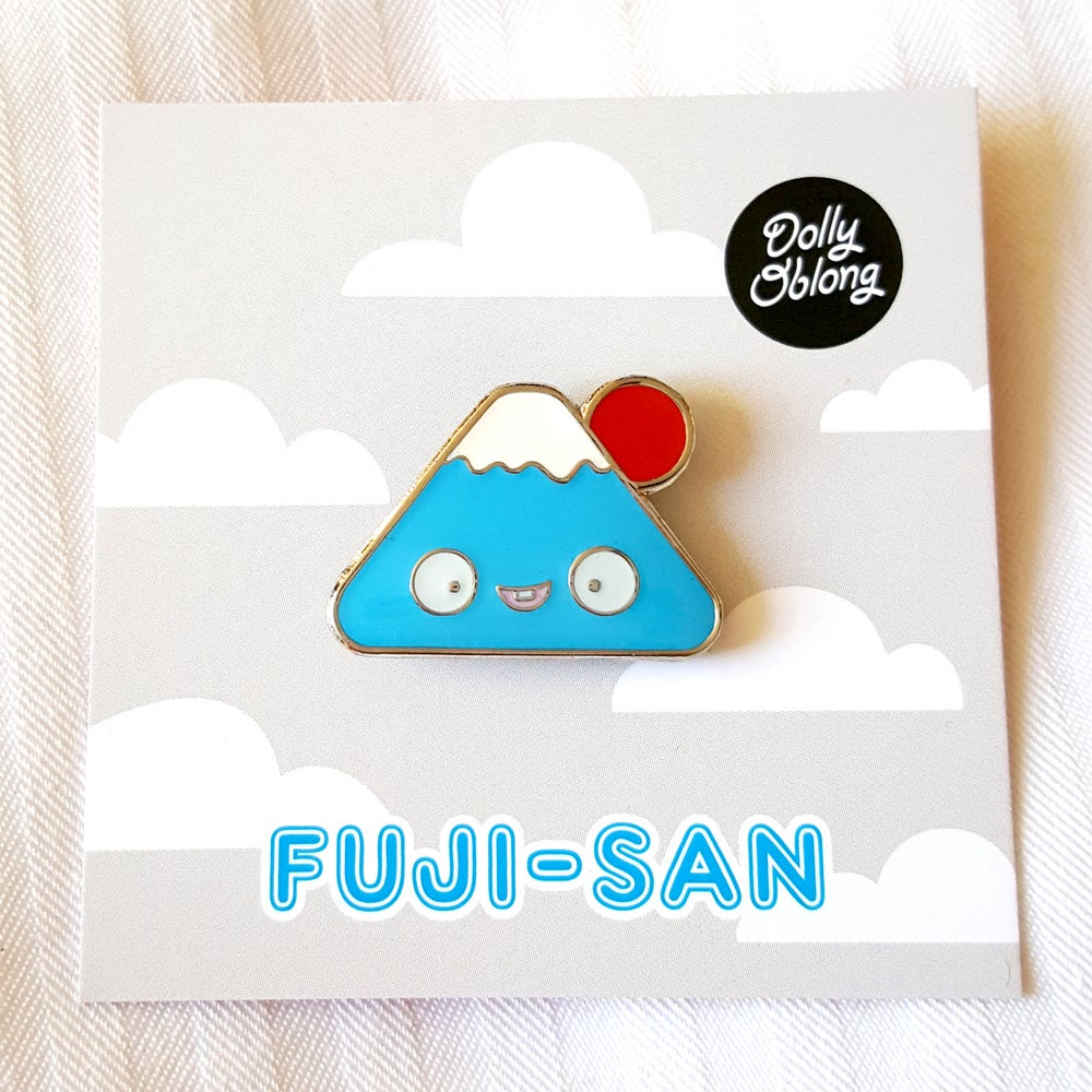 Image of Fuji-san pin