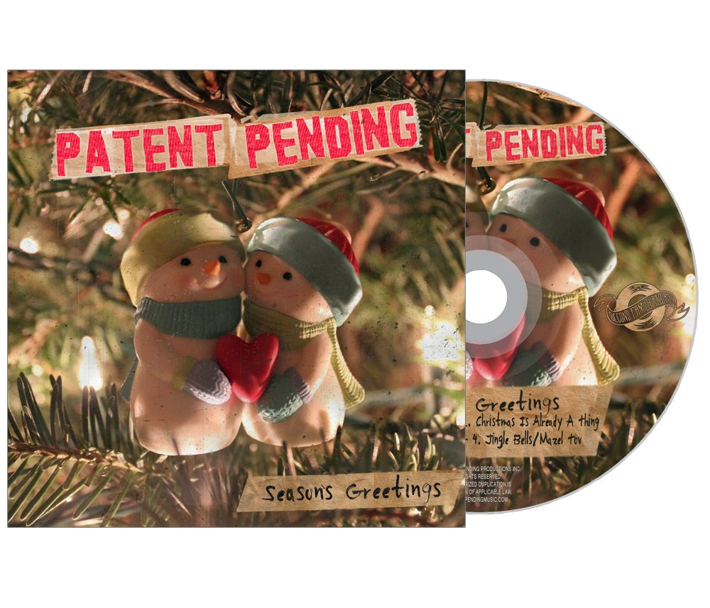 "Image of ""Season's Greetings"" Holiday EP CD"