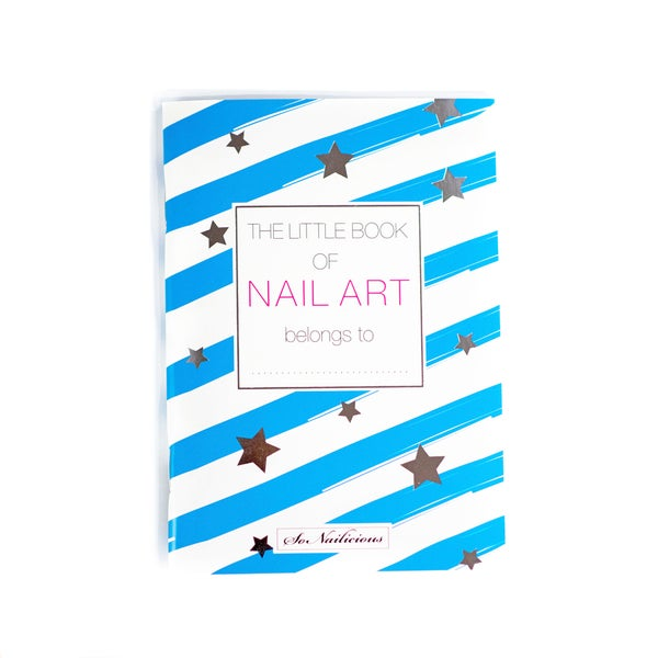 Image of The Little Book Of Nail Art - Square Nails - ONLY 1 LEFT!