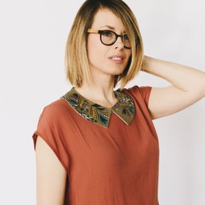 Image of Fall Frolic - Faux Collar
