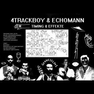 Image of 4Trackboy & Echomann - Timing & Effekte - LP (GROOVE ATTACK RECORDSTORE)