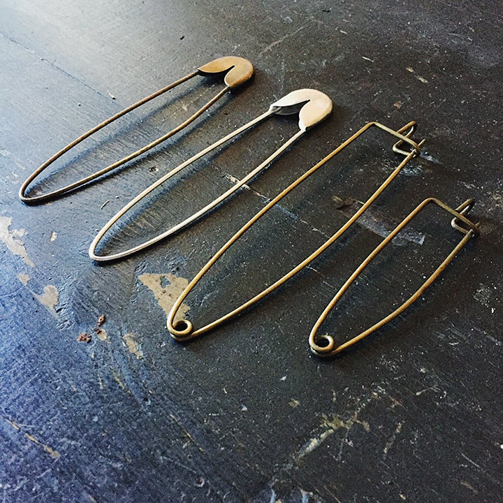 Image of Giant safety pins