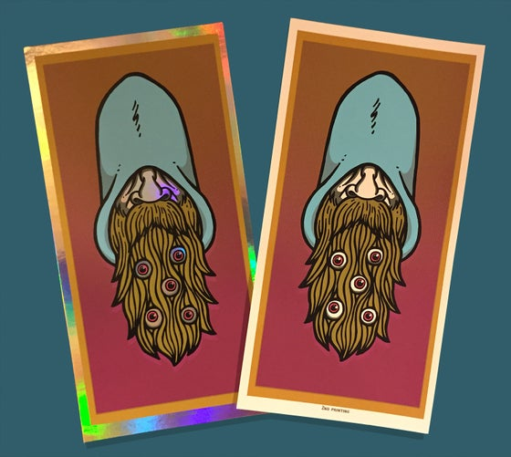 "Image of ""Wizard Beard"" art print"