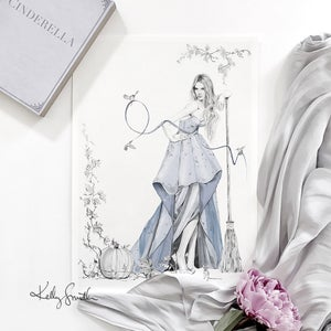 Image of Cinderella - LIMITED EDITION FINE ART PRINT