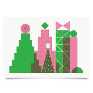 Image of Holiday City print