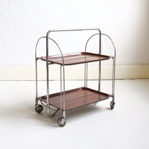 Image of German fold away trolley c1960 SALE WAS £70