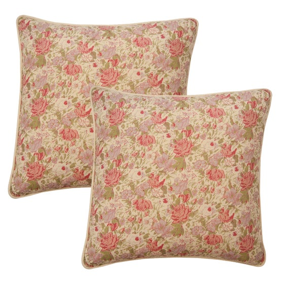 Image of Pair of Roses Pillows
