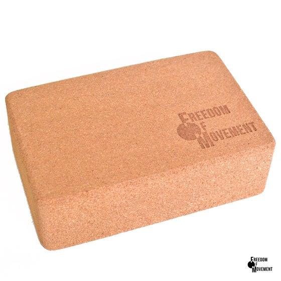 Image of Cork yoga block