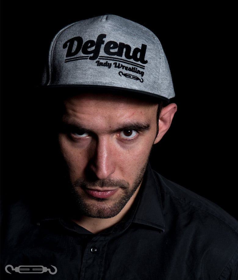 Image of DEFEND Jersey Snapback Cap