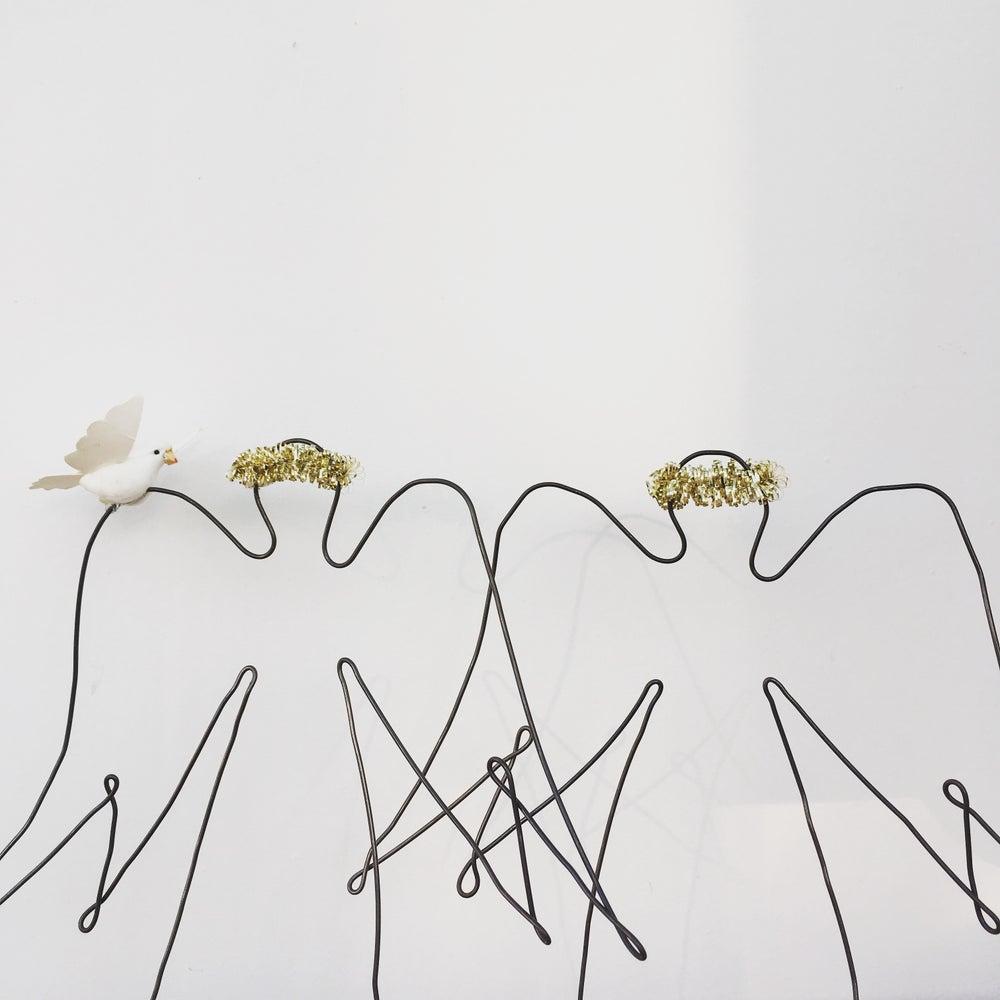 Image of Ange couronne dorée à partir de