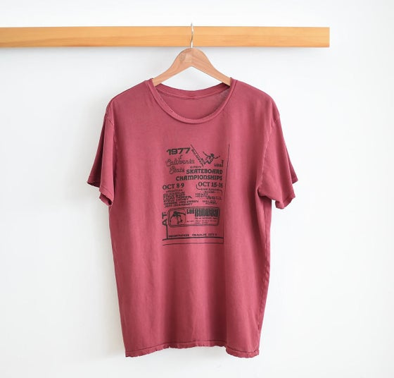 Image of NEW!! 1970's Skate Contest Tee!