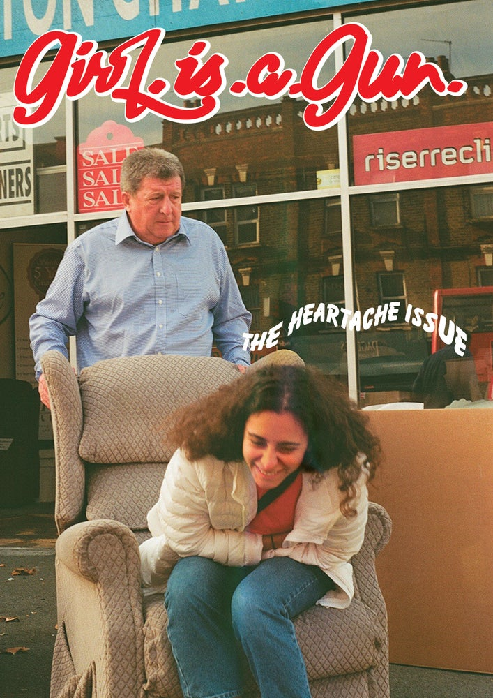 """Image of GIRL.IS.A.GUN """"THE HEARTACHE ISSUE"""" COVER 2 FIND US IN STORES :)"""