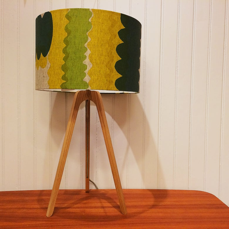 Image of 'Wiggle' Medium Drum Shade