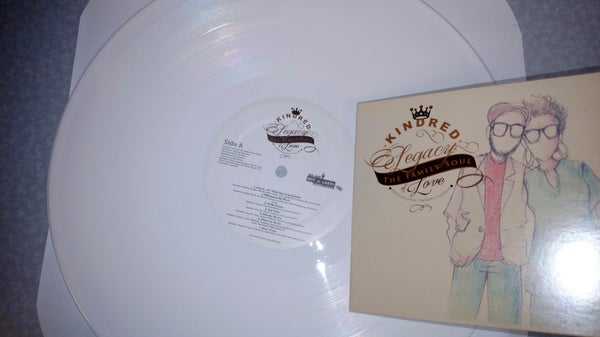 Image of White Vinyl full length LP :Legacy of Love