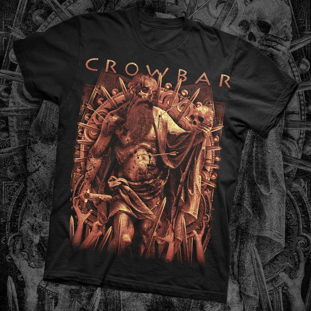 "Image of CROWBAR ""THROUGH THE ASHES"" SHIRT"