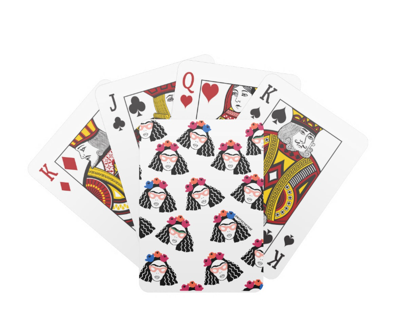 Image of 'Black Frida' Playing Cards