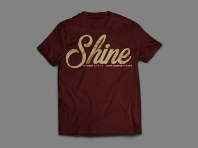 Image of Burgundy Shine Shirt