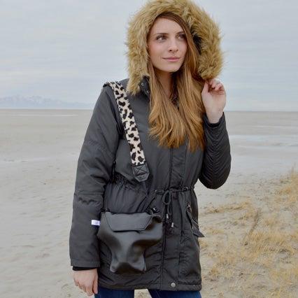 Image of Leopard Camera Strap   Cute Sassy Camera Strap Fits Most Cameras