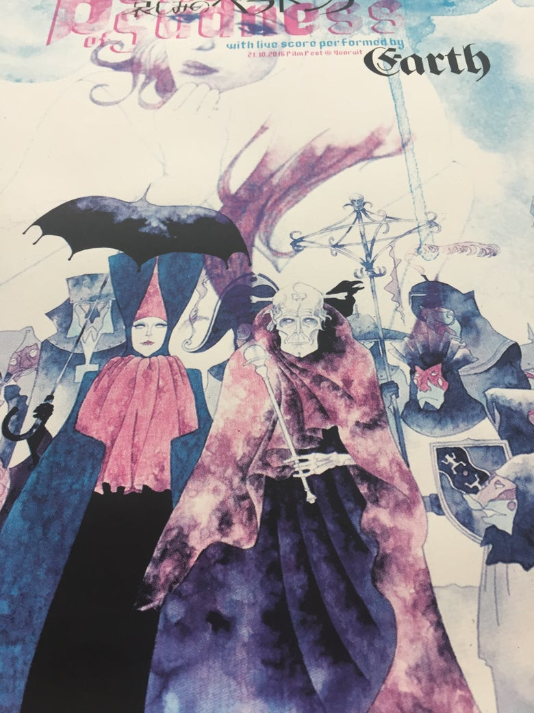 Image of Belladonna of Sadness live score by Earth Gent 2016