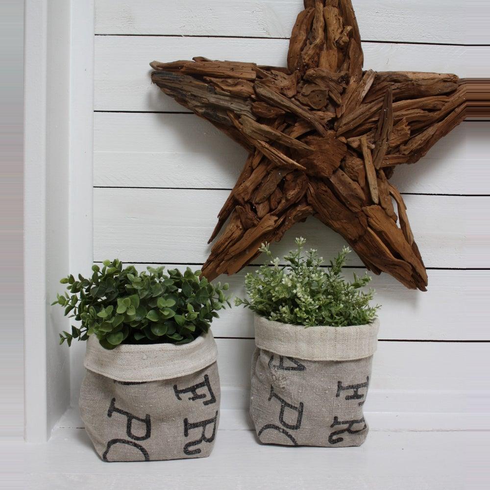 pani res en chanvre et toile la poste le grenier de ninon. Black Bedroom Furniture Sets. Home Design Ideas