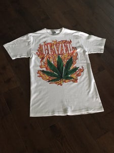 """Image of Lil Debbie """"BLAZED"""" WHITE T- RE-STOCKED & SIGNED by Debbie"""