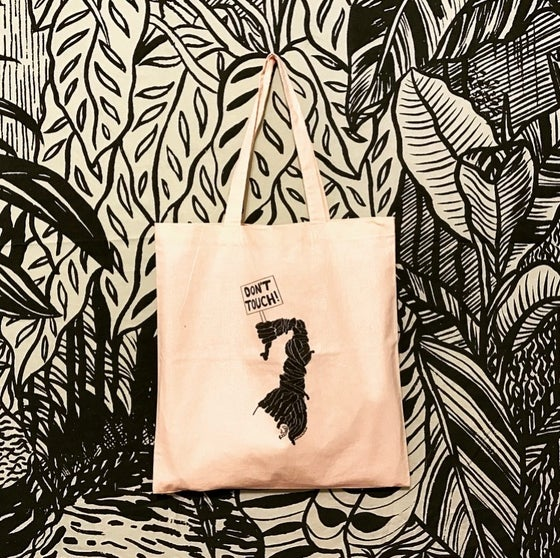 Image of 'Don't Touch My Hair' Tote Bag
