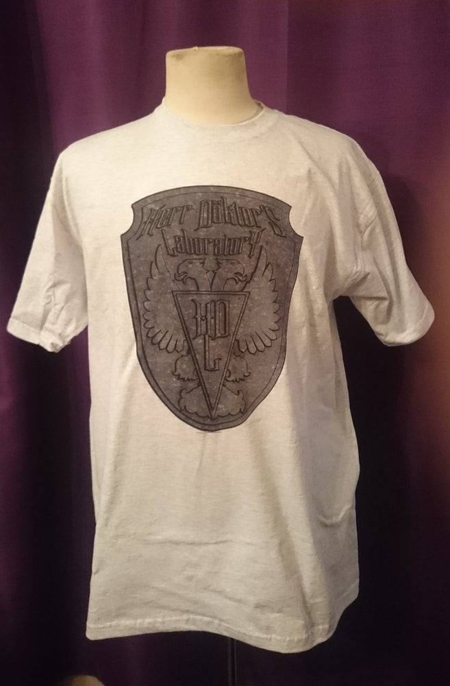 "Image of Herr Döktor's Laboratory Limited Edition T-Shirt No.2 ""Herr Döktor's Laboratory SHIELD"""