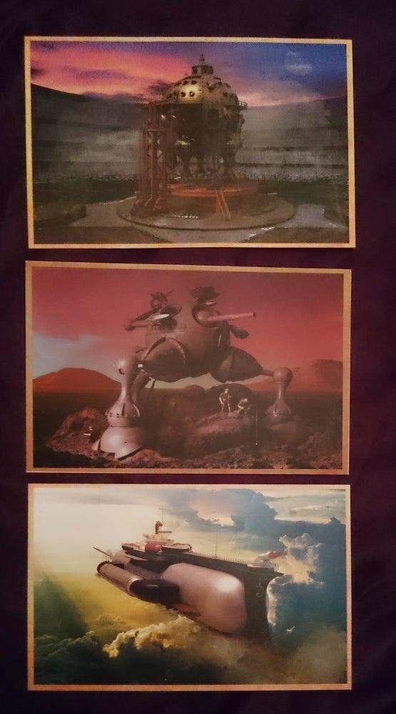 Image of Herr Döktor's Laboratory Postcards set of three