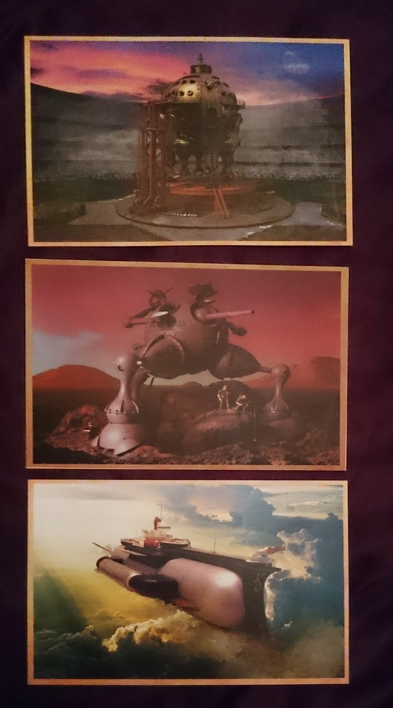 Image of Herr Döktor's Laboratory Postcards set of three