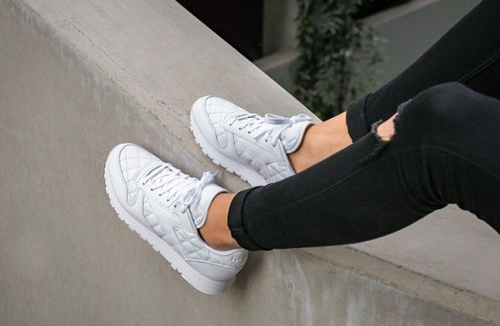 Image of REEBOK CLASSIC QUILTED PACK WHITE