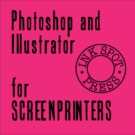 Image of PHOTOSHOP AND ILLUSTRATOR FOR SCREEN PRINTERS. One to One sessions. £30.00 per hour.