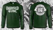 Image of BORROWED TIME 'Poisonous Grace' Long Sleeve Shirt